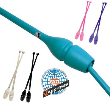 RSG-Keulen »MASHA« CONNECTABLE, 40,5cm Plastik/Gummi (FIG) für Rhythmische Sportgymnastik – Bild 2