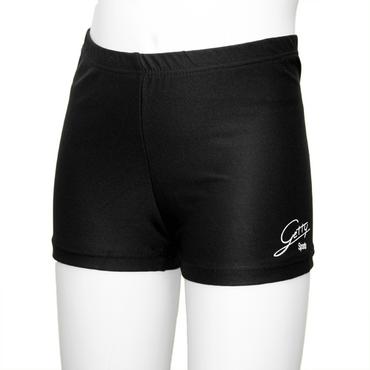 Panty aus schwarzem Meryl (Polyamid/Elastan)