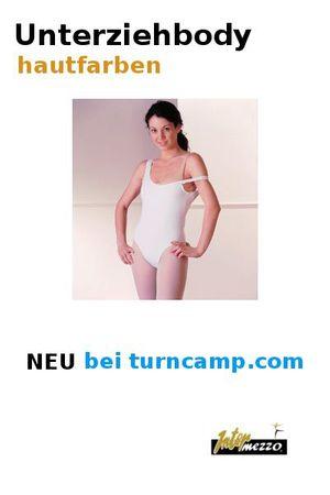 Unterziehbody, hautfarben für Gymnastikanzug bzw. RSG-Anzug