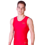 getty-sports Turnanzug / Turntrikot »Paul« (rot)