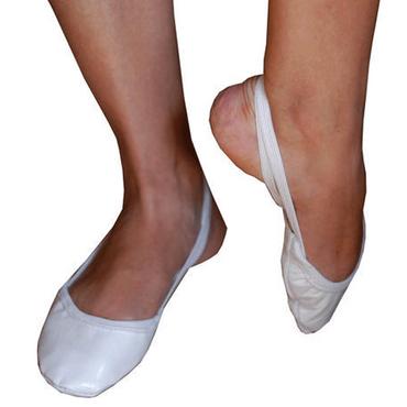 Pastorelli RSG-Kappen / Gymnastikkappen aus Leder, weiß (beige)