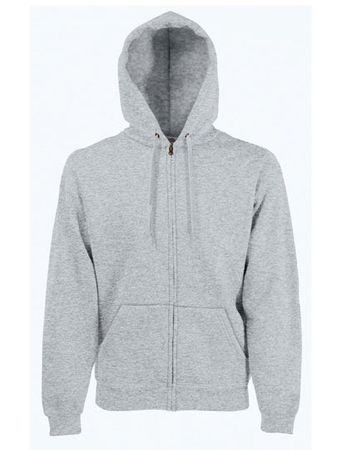 Hooded Jacket 'SC Huglfing', grau