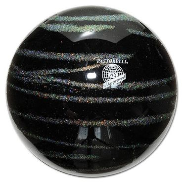 PASTORELLI RSG-Ball  »KISS&CRY«  Glitter - Silver, 18cm, FIG approved – Bild 2