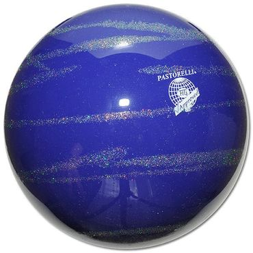 PASTORELLI RSG-Ball  »KISS&CRY«  Glitter - Silver, 18cm, FIG approved – Bild 4