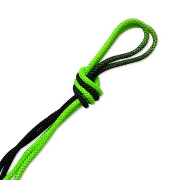 Pastorelli RSG-Seil, black/green 3m (FIG)