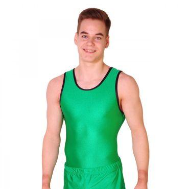 Getty-Sports Turntrikot Bernd (waldgrün, schwarz) – Bild 1