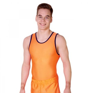 Getty-Sports Turntrikot Bernd (orange, navy) – Bild 1