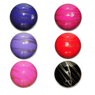 PASTORELLI RSG-Ball  »KISS&CRY«  Glitter - Gold, 18cm, FIG approved