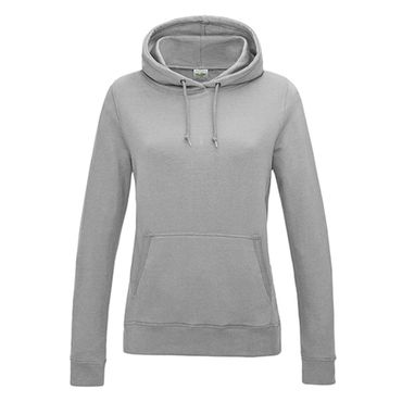 Girlie College Hoodie in Heather Grey – Bild 1