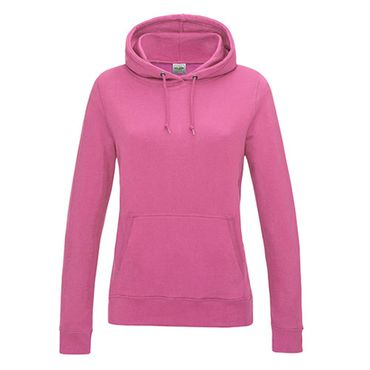 Girlie College Hoodie in Candy Pink – Bild 1