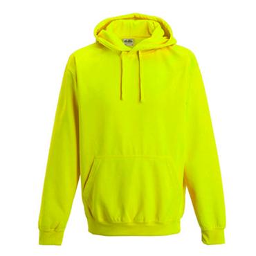 Hoodie in Neonfarben mit Kängurutaschen – Bild 3