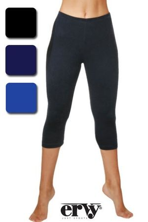 royal Capri / Tights, GR S,  3/4 lange Turnhose / Gymnastikhose, glatter Samt