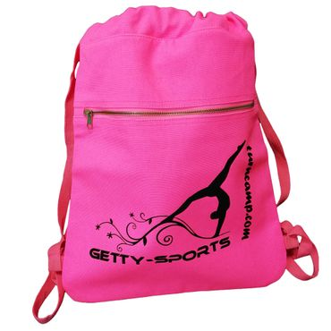 pink Canvas Rucksack 'GETTY-SPORTS' Turnen / Gymnastik
