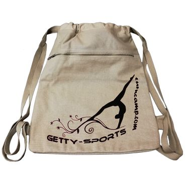 kaki Canvas Rucksack 'GETTY-SPORTS' Turnen / Gymnastik