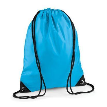 Turnbeutel, Sportortbeutel, Rucksack mit Kordelzug und verstärkten Ecken, in verschiedenen Farben ohne Druck – Bild 1