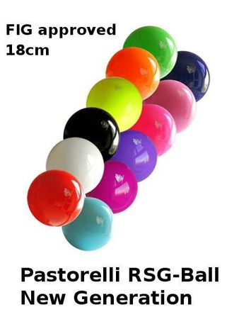 RSG-Ball,goldfarben, 18cm, FIG approved, »New Generation« von Pastorelli – Bild 2