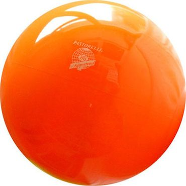 RSG-Ball, orange, 18cm, FIG approved, »New Generation« von Pastorelli – Bild 1