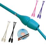 RSG-Keulen »MASHA« CONNECTABLE, 45,2cm Plastik/Gummi (FIG) für Rhythmische Sportgymnastik 001