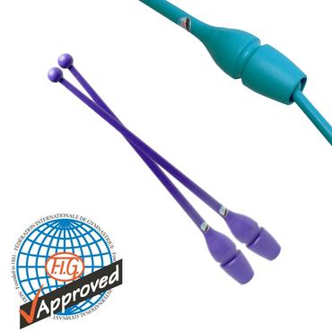 45,2cm RSG-Keulen CONNECTABLE »MASHA« (FIG), Plastik/Gummi, violett – Bild 1