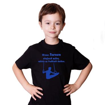 "T-Shirt / Turner-Shirt ""Wenn Turnen ..."" Motiv Ringe – Bild 3"