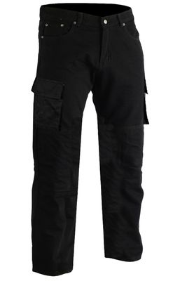 Motorcycle jeans motorcycle pants, cargo pants with protective fabric and protectors