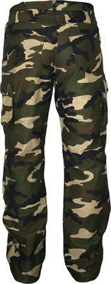 German Wear, Motorbike Twill Jeans with removable Protectors green/military – image 2