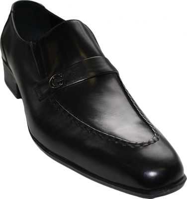 Business Shoes Made Of Real Cowhide,Color: Black – image 1