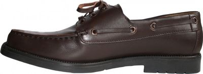 Boat Shoes made of real Cowhide,color: Brown – image 2