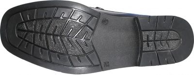 Boat Shoes made of real Cowhide,color: Black – image 3