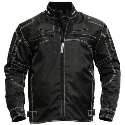German Wear, Cordura Textile Motorcyle jacket water resistant, windproof  Black