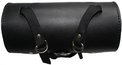 Motorrad Werkzeugtasche Satteltasche Motorradtasche Toolbox echtleder schwarz – Bild 2