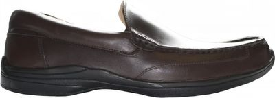 Low shoes made of real leather,Color:dark Brown – image 2