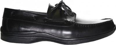 Low Shoes made of real Leather,color:black – image 2