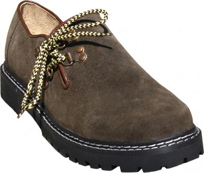 Bavarian Haferl for Lederhosen Shoes Suede leather