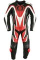 Motorbike motorcycle leathers 1 one piece suit real Cowhide leather Red/Black