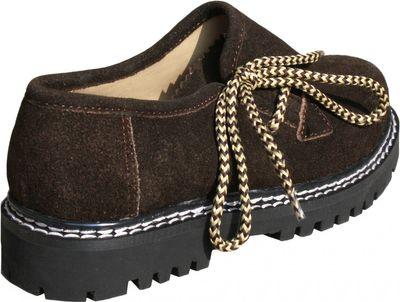 Kids Boys & Girls unisex Haferl-shoe Trachten-shoes for Lederhosen,color: Brown – image 4