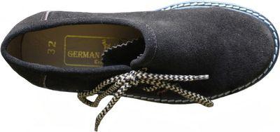 Kids Boys & Girls unisex Haferl-shoe Trachten-shoes for Lederhosen,color: Brown – image 3