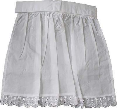 Kids Apron Bavarian Dirndlapron,color: White