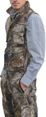 Hunting Vest with textile Stitchery,color: Forest Pattern – image 3
