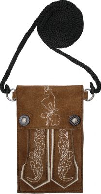Iphone trendy Trachten Bag Handybag handy real leather – image 5