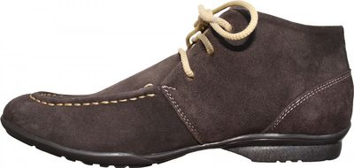 Boots made of real Suede Leather Brown / Beige / Blue – image 1
