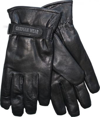 Ladies Trendy sheepskin Gloves real leather – image 2