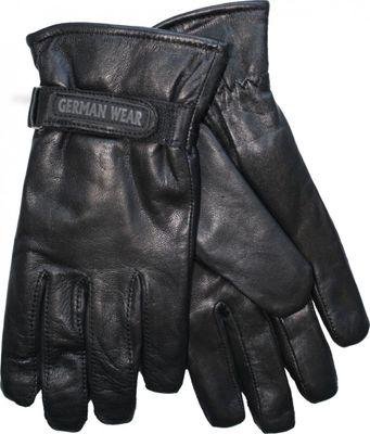 German Wear, Damen Lammnappa Lederhandschuhe Handschuhe echtleder Lamm-Nappaleder schwarz – Bild 2