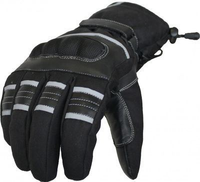 German Wear,Motorradhandschuhe Sommer/Herbst Motorrad Biker Handschuhe Schwarz – Bild 2