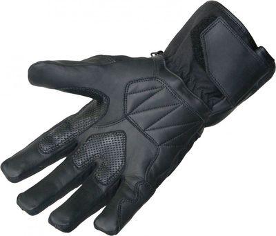 German Wear,Motorradhandschuhe Motorrad Biker Handschuhe Schwarz – Bild 2