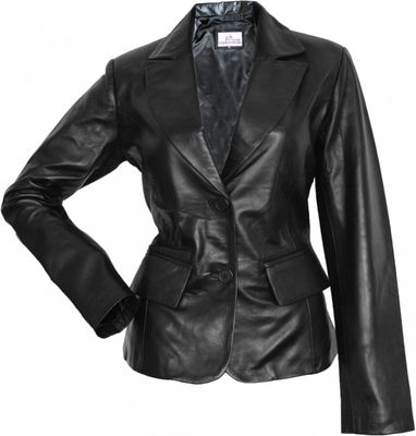 Ladies Leather jacket lamb Nappa-leather