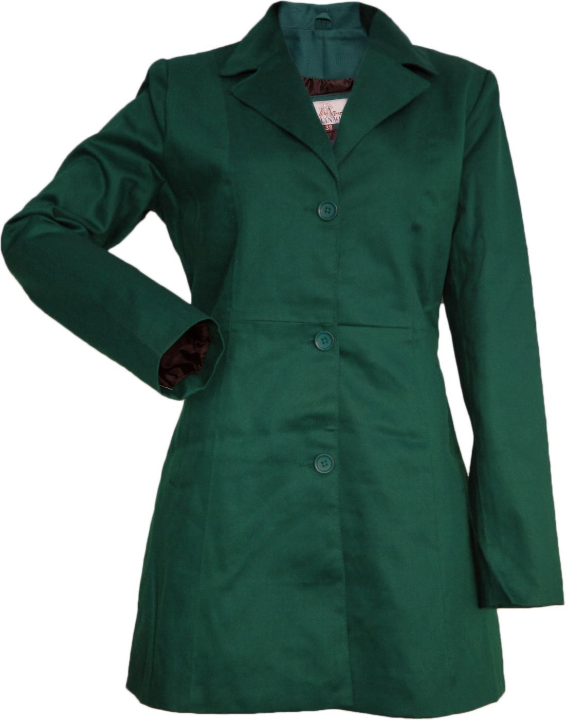 Aus Damen German Baumwolle Grün Mantel Trenchcoat Wear RIwqnHw8