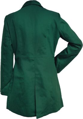Ladies Cotton Coat fashion trench coat,colour: Green – image 2