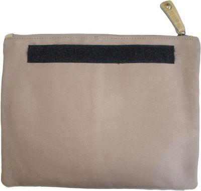 Trendy Ladies Bag  handbag real leather beige – image 2
