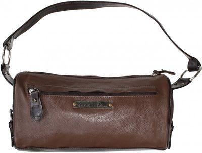 trendy Ladies Bag real Leather orange